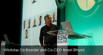 Workday Co-CEO Aneel Bhusri presenting at Workday Rising 2010