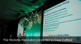 Workday Co-CEO Dave Duffield presents at Workday Rising 2010