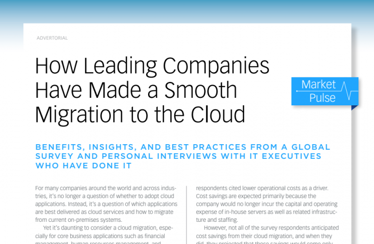 How Leading Companies Made a Smooth Migration to the Cloud